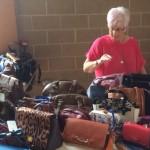 Bag stall at fun day